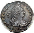 Early Half Dimes, 1796 H10C LIKERTY, V-1, LM-1, R.3 -- Cleaning -- PCGS Genuine. AUDetails....