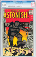 Silver Age (1956-1969):Mystery, Tales to Astonish #3 (Marvel, 1959) CGC VG/FN 5.0 Off-whitepages....
