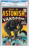 Silver Age (1956-1969):Horror, Tales to Astonish #17 (Marvel, 1961) CGC VG/FN 5.0 Off-whitepages....