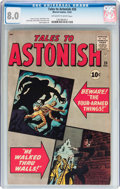 Silver Age (1956-1969):Horror, Tales to Astonish #26 (Marvel, 1961) CGC VF 8.0 Off-white to whitepages....