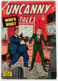 Golden Age (1938-1955):Science Fiction, Uncanny Tales #24 (Atlas, 1954) Condition: GD/VG....