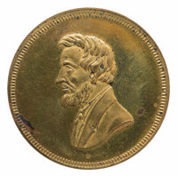 Abraham Lincoln: 1861 Inauguration Medal