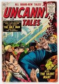 Golden Age (1938-1955):Science Fiction, Uncanny Tales #33 (Atlas, 1955) Condition: VG+....