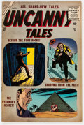 Golden Age (1938-1955):Horror, Uncanny Tales #41 (Atlas, 1956) Condition: FN/VF....