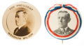 Political:Pinback Buttons (1896-present), Woodrow Wilson: Picture Pins....