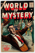 Golden Age (1938-1955):Horror, World of Mystery #6 (Atlas, 1957) Condition: VG....