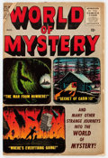 Golden Age (1938-1955):Horror, World of Mystery #2 (Atlas, 1956) Condition: FN....