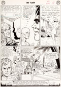 Original Comic Art:Panel Pages, Carmine Infantino and Joe Giella The Flash #124 Page 4Elongated Man and Captain Boomerang Original Art (DC, 1959)...