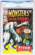 Bronze Age (1970-1979):Horror, Monsters on the Prowl #11 (Marvel, 1971) CGC NM/MT 9.8 Whitepages....