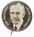 Political:Pinback Buttons (1896-present), Calvin Coolidge: Picture Pin....