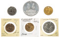 Political:Tokens & Medals, Grover Cleveland: Six Tokens....