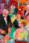 Fine Art - Painting, American:Contemporary   (1950 to present)  , LeRoy Neiman (American, 1921-2012). Mirabelle / Paul Getty /Sammy Davis / Charlie Chaplin / Marlon Brando, 1966. Oil on...