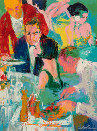 LeRoy Neiman (American, 1921-2012) Tossed Salad, 1965 Oil on board 48 x 36 inches (121.9 x 91.4 c