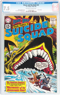 Silver Age (1956-1969):Adventure, The Brave and the Bold #39 Suicide Squad (DC, 1962) CGC VF- 7.5 Off-white to white pages....