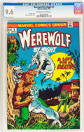 Bronze Age (1970-1979):Horror, Werewolf by Night #5 (Marvel, 1973) CGC NM+ 9.6 Off-white to whitepages....