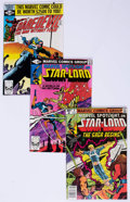 Modern Age (1980-Present):Miscellaneous, Marvel Daredevil and Star-Lord Group of 6 (Marvel, 1979-80) Condition: Average VF.... (Total: 6 Comic Books)