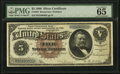 Large Size:Silver Certificates, Fr. 264 $5 1886 Silver Certificate PMG Gem Uncirculated 65 EPQ.....