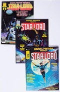 Magazines:Superhero, Marvel Preview - Star-Lord Group (Marvel, 1976-79) Condition:FN/VF.... (Total: 6 Comic Books)