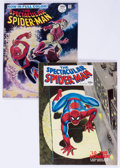 Magazines:Superhero, Spectacular Spider-Man #1 and 2 Group (Marvel, 1968) Condition:Average VF.... (Total: 2 Items)