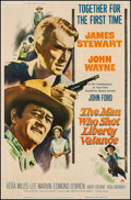 """Movie Posters:Western, The Man Who Shot Liberty Valance (Paramount, 1962). Poster (40"""" X60""""). Western.. ..."""