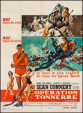 "Movie Posters:James Bond, Thunderball (United Artists, 1965). French Grande (46"" X 63"").James Bond.. ..."