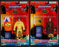James Bond and Anya Amasova from The Spy Who Loved Me (Exclusive Premier, 1998). Limited Edition Action Figures in Origi...