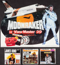"""Movie Posters:James Bond, Live and Let Die & Other Lot (Gaf Corporation, 1973). Opened and Unopened View-Master Slide Sets (3 Sets) (4.5"""" X 4.5"""") and ... (Total: 4 Items)"""