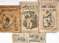 Books:Americana & American History, [Comic Almanacs]. Trio of Nineteenth-Century Comic Almanacs, PlusFragment. Various publishers, [1851 - 1887]....