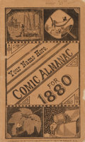 Books:Americana & American History, [Comic Almanacs]. Prospective Sample. New York: IllustratedAdvertising Co., [1879]....