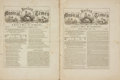 Books:Periodicals, [Sheet Music, Periodicals]. Two Issues of the Boston MusicalTimes, Vol. V, Nos. 2 and 5. February - May, 1864....