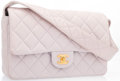 "Luxury Accessories:Accessories, Chanel Pale Purple Quilted Lambskin Leather Shoulder Bag with GoldHardware. Very Good Condition. 10"" Width x 7"" Height x ..."