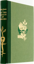 Books:Natural History Books & Prints, Charles Darwin. On the Origin of Species by Means of Natural Selection. New York: The Heritage Press, [1963]. ...
