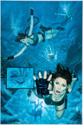 Original Comic Art:Panel Pages, Joe Jusko Tomb Raider: The Greatest Treasure of All #1 Page31 Original Art Panel (Image, 2005)....