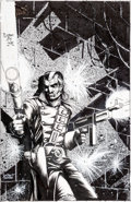 Original Comic Art:Covers, Timothy Truman Grimjack #17 Cover Original Art (FirstComics, 1985)....
