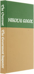 Books:Literature Pre-1900, Saul Field, illustrator. SIGNED/LIMITED. Nikolai Gogol. TheOvercoat / The Government Inspector. Westport: The Limit...