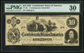 Confederate Notes:1862 Issues, CT46/344A $10 1862 Counterfeit.. ...