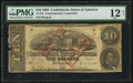 Confederate Notes:1863 Issues, CT59/440 $10 1863 Counterfeit.. ...