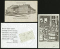 Miscellaneous:Other, Eight Macerated or Macerated Related Postcards.. ... (Total: 8items)