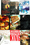 Books:Horror & Supernatural, Stephen King. Group of Nine First Editions. Various publishers, [1993 - 2001].... (Total: 9 Items)
