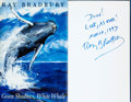 Books:Science Fiction & Fantasy, Ray Bradbury. INSCRIBED. Green Shadows, White Whale. HarperCollins Publishers, [1992]....
