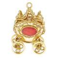 Estate Jewelry:Other , Coral, Gold Charm. ...