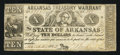 Obsoletes By State:Arkansas, (Little Rock), AR- Arkansas Treasury Warrants $10 Mar. 28, 1862 Cr. 58. ...