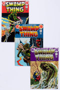 Bronze Age (1970-1979):Horror, Swamp Thing #1-24 Near Complete Series Group (DC, 1972-76)Condition: Average FN+.... (Total: 24 Comic Books)