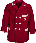 Baseball Collectibles:Uniforms, 1912 Harry Hooper Game Worn Boston Red Sox Sweater....