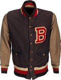 Baseball Collectibles:Uniforms, 1932 Lefty O'Doul Game Worn Brooklyn Dodgers Warm-Up Jacket....