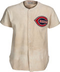Baseball Collectibles:Uniforms, 1940 Bucky Walters Game Worn Cincinnati Reds Uniform....