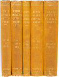 Books:Literature Pre-1900, Sir Edwin Arnold. Group of Five Volumes of Edwin Arnold'sPoetical Works. London: Trubner & Co., 1888.... (Total: 5Items)