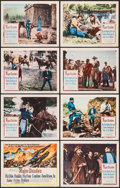 "Movie Posters:Western, Major Dundee (Columbia, 1965). Lobby Card Set of 8 (11"" X 14""). Western.. ... (Total: 8 Items)"