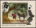 """Movie Posters:Romance, The Eagle (United Artists, 1925). Lobby Card (11"""" X 14""""). Romance.. ..."""