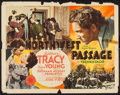 "Movie Posters:Action, Northwest Passage & Others Lot (MGM, 1940). Half Sheet (22"" X 28""), French Petite (11.75"" X 16""), & Belgian (14"" X 22""). Act... (Total: 3 Items)"